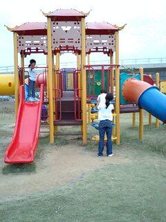 石垣島の公園で