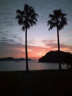 日南海岸の日の出